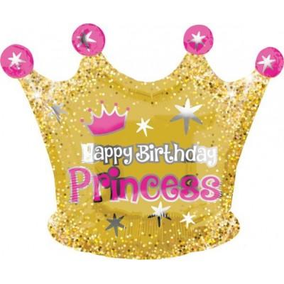 Palloncino mylar compleanno corona