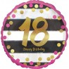 """Palloncino mylar 18"""" compleanno milestone"""