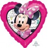"Palloncino mylar 17""Minnie Happy Helpers"