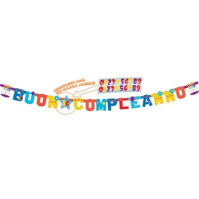Festone Buon compleanno personalizzabile