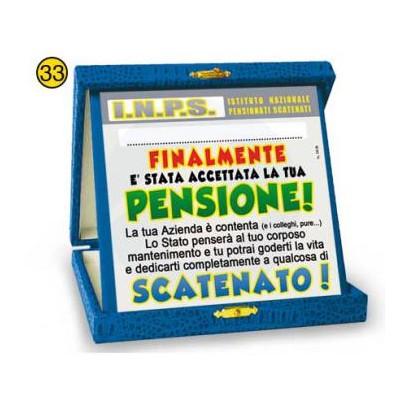 Targa pensione doc