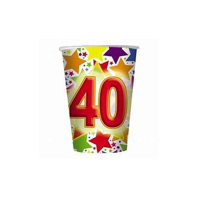 10 Bicchieri 200 cc  Stardust 40