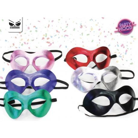 Maschera metallizata party