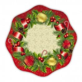 10 Piatti Ø 23 Christmas Style