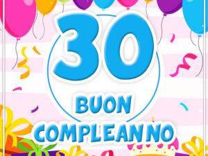 Festa 30 anni