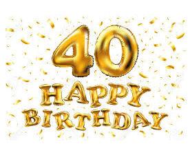 Festa 40 anni