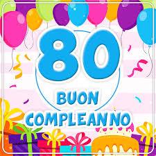 Festa 80 anni