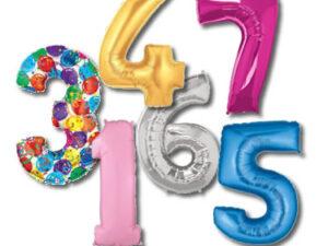 Palloncini Numeri e Lettere